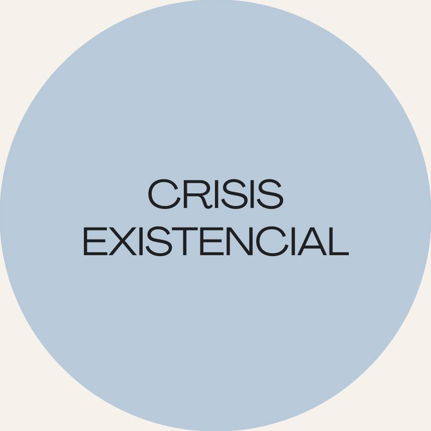 Crisis existencial: El sentido de la vida.